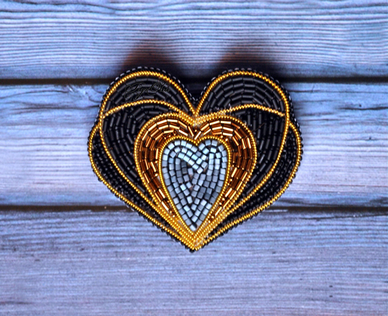 Альбом пользователя TigrOlia: Брошь Биение сердца