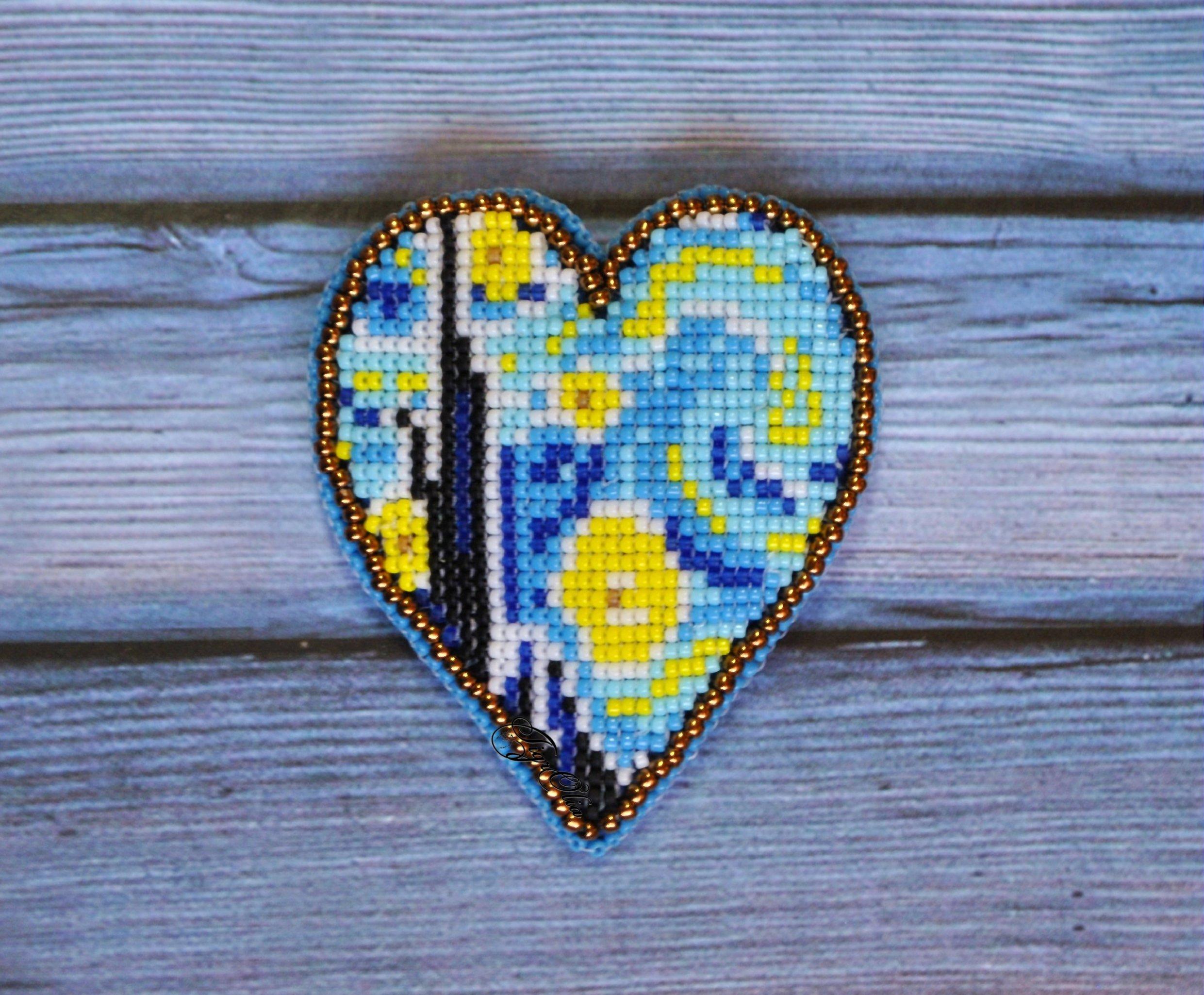 Альбом пользователя TigrOlia: Брошь Сердце Винсента